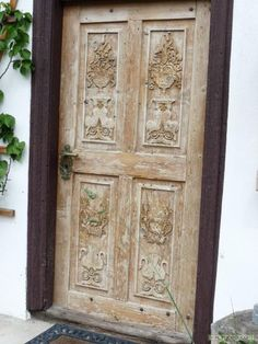 Vieille porte en bois l 39 entr e de la vieille forteresse banque d 39 im - Vieille porte en bois ...