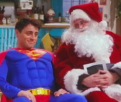 When they were both each others' superheroes, as friends should be. | 25 Moments When Joey And Chandler Won At Friendship