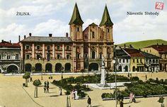 Krásne historické fotky známych miest v Žiline - Žilina24.sk Louvre, Mansions, House Styles, Building, Travel, Viajes, Manor Houses, Villas, Buildings