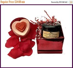 If you are struggling to find the perfect gift, check out this Illuminating Organic Whipped Body Souffle and Organic Bath Bomb Combo that comes in a gorgeous glitter & shine Valentines decorative box. This Valentines Day Body Shimmer will get you ready for that perfect night out or a sparkly day in the office. Night or Day you will shine bright like diamonds! The best part?! Its VEGAN and ORGANIC.     This illuminating organic natural body shimmer gives you that sexy youthful glow you've…