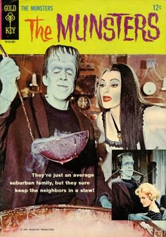 The Munsters comic book, 1964