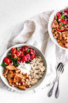 Vegan Sweet Potato and Chickpeas Tomato Salad with Sweet Mustard Dressing  #salad #foodie #foodphotography #recipe #glutenfree #vegan #plantbased