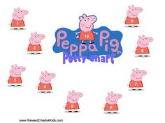 Peppa Pig Behaviour Charts