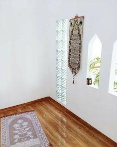 30 Praying Room Ideas To Bring Your Ramadan More Beautiful Beautiful Home Designs, Beautiful Interiors, Home Room Design, House Design, Islamic Prayer, Prayer Room, Room Interior, Interior Ideas, House Layouts