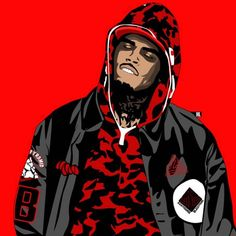 Happy Birthday to Chris brown Black Pyramid Chris Brown, Chris Brown Art, Chris Brown Wallpaper, Camo Wallpaper, Dope Cartoon Art, Dope Cartoons, Supreme Iphone Wallpaper, Foto 3d, Mode Poster