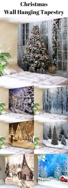 Christmas Tree Wall Hanging Tapestry | Free Shipping | #Christmas #Home