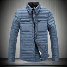 b96946856f1c ON SALE Free shipping fashion Cool Men Wear Thicken Winter Outdoor  Windbreaker Heavy Coats Down Jacket Clothes M L XL XXL 789