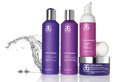 Pure Vibrance Hair Care works beautifully on colour treated hair! www.KathyGover.myarbonne.com