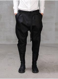 Mens Drop Crotch Roped Dope Pants at Fabrixquare