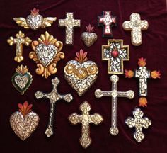 Milagros Hearts and Crosses