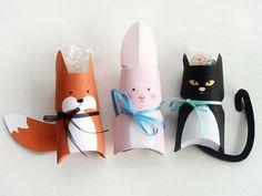 Tutoriale DIY: Cómo hacer una caja de regalo con forma animal vía DaWanda.com