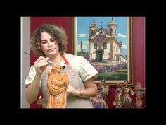 Mulher.com 02/08/2012 Valeria Maradini Malimpensa - Decape acetinado em peças de gesso 01 - YouTube