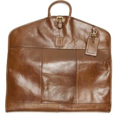 Herring shoes | Herring Luggage | Savoy Suit Carrier in Chestnut at Herring Shoes