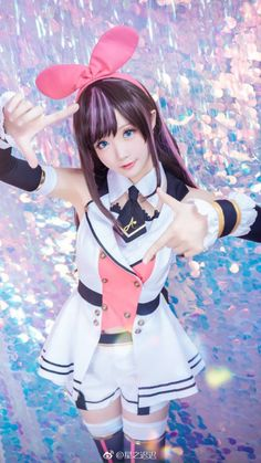 Kawaii Cosplay, Anime Cosplay, Cute Cosplay, Amazing Cosplay, Cosplay Outfits, Cosplay Girls, Cute Girls, Cool Girl, Anime Warrior