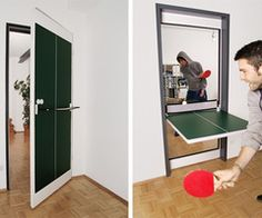 hehe table tennis/ beer pong, could be fun! :)