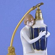 Circa 1930's, Austrian / Czechoslovakian, Royal Dux, Porcelain, Figural, Naked Lady