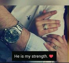 And I'm his strong weakness in love Cute Love Quotes, Muslim Love Quotes, Love Picture Quotes, Couples Quotes Love, Love In Islam, Love Husband Quotes, Islamic Love Quotes, Sweet Quotes, Girly Quotes