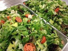 Dark Green leafy tossed salads!