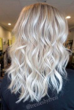 Silk and Shiny Ash Blonde Hair picture 2