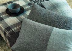 LANA HIGHLAND by Englisch Dekor: Lana reciclada / Llana reciclada. Ignifugo/Ignifug: EN1021 1+2 & EN13773 (consultar). #flameretardant #FR #ignifug #ignifugo #ontario #fabrics #englisch #dekor Fabric Decor, Ontario, Fabrics, Throw Pillows, Home Decor, Tejidos, English, Toss Pillows, Decoration Home