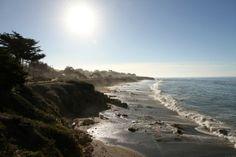 Moonstone Beach in Cambria, California