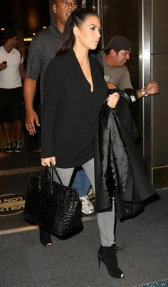 KIM KARDASHIAN at Miami International Airport