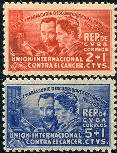 Francobolli - Lotta contro il cancro - Fight against cancer - Stamps Cuba 1938