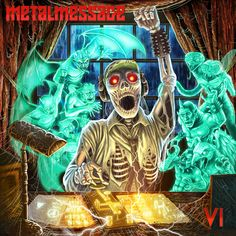"""HARD N' HEAVY NEWS: METALMESSAGE - """"VI"""" NEW COMPILATION AVAILABLE ONLINE!"""