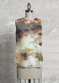 ~Chocofuzz~ sleeveless top  #VIDA #shopvida #onlineshopping #design #clothes #collection  #cloesart #top #blouse