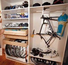 THIS is how to organize your bike gear.