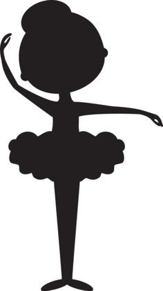 Silhouette Ballerina 1 - Minus ≈≈★★★≈≈ P.S.: ARE YOU (or your friend) A BALLET…