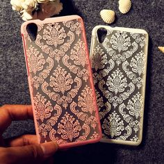 Damassé Vintage Fleur Cas de Téléphone Pour HTC Desire 626 Bouclier 626 w 626D 626G 626 S Case Protecteur Gaine Retour Logement Shell