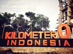 Km 0 of Indonesia Travelling, Explore, Exploring
