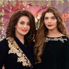 Nida yasir and sadia imam Nida Yasir, Girl Hand Pic, Ayeza Khan, Urdu Poetry Romantic, Wardrobe Design, Celebs, Celebrities, Pakistani Dresses, Party Wear