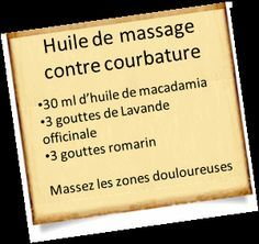 huile massage courbature musculaire Stopper une courbature musculaire avec les huiles essentielles