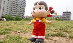 不二家 ペコちゃん人形 26cm