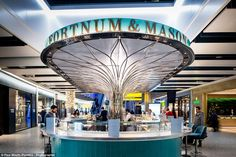 Airport lux: The Bar at Fortnum & Mason (Heathrow) - Universal Design Studio - Best Restaurant or Bar in a transport space