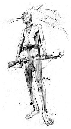 ink drawings of ralph steadman - Google Search