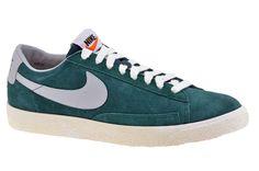 Nike Blazer Low Vintage Sportive Basse Verde