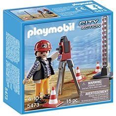 PLAYMOBIL Surveyor Playset
