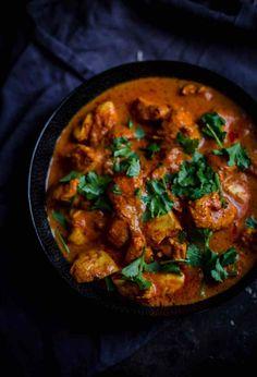 Curry Recipes, Pork Recipes, Chicken Recipes, Keto Recipes, Indian Food Recipes, Asian Recipes, Ethnic Recipes, Chicken Handi, Gochujang Chicken