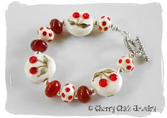 Cherry Tapestry Bracelet @ Cherry Chick ~ SOLD