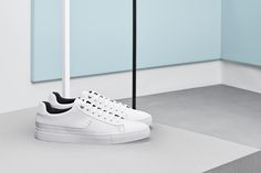 Clean modern sneakers from the BOSS Menswear pre-Fall 2016 collection