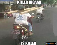 Indian Funny Jugaad Pic