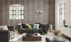 Tapet hartie Rasch Outdoor Furniture Sets, Outdoor Decor, Modern, Couch, Flooring, Interior Design, Rugs, Wall, Home Decor