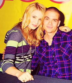 Dianna Agron & Mark Salling perfection