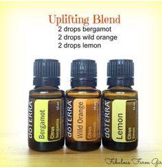 Uplifting blend.