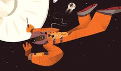 """Check out this @Behance project: """"2001: A Space Odyssey. Illustrated children book"""" https://www.behance.net/gallery/46635625/2001-A-Space-Odyssey-Illustrated-children-book"""