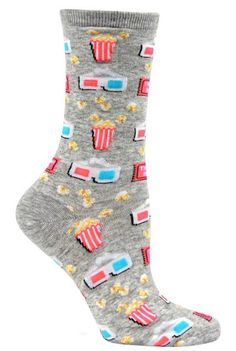 The Sock Drawer's unique selection of colorful, crazy socks in every size and shape imaginable will breathe life into your wardrobe! Silly Socks, Funky Socks, Crazy Socks, Cute Socks, My Socks, Happy Socks, Awesome Socks, Unique Socks, Novelty Socks