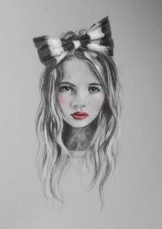 girl drawing   Tumblr